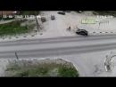 Жесткое ДТП с велосипедистом в Карелии попало на камеру ДТП авария