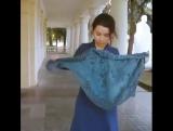 Как правильно носить шарфы-платки!