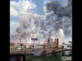 Взрыв в Тельтепеке на ярмарке фейерверков