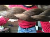 Long nails and hair