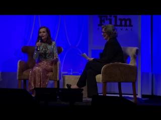 SBIFF 2017 - Isabelle Huppert Discusses Rosebud | Изабель Юппер