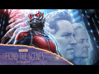 За кадром|ENG|«Человек-муравей \ Ant-Man» 2015 — Неудачные дубли №1