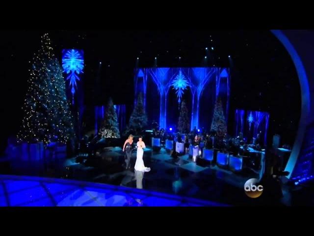 Jennifer Nettles Idina Menzel ~ Frozen~ Let It Go CMA Country Christmas 2014