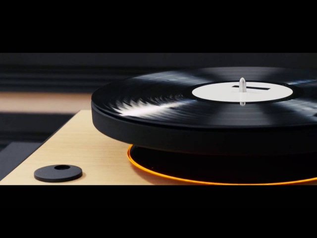 MAG-LEV Audio: World's first levitating turntable (official)