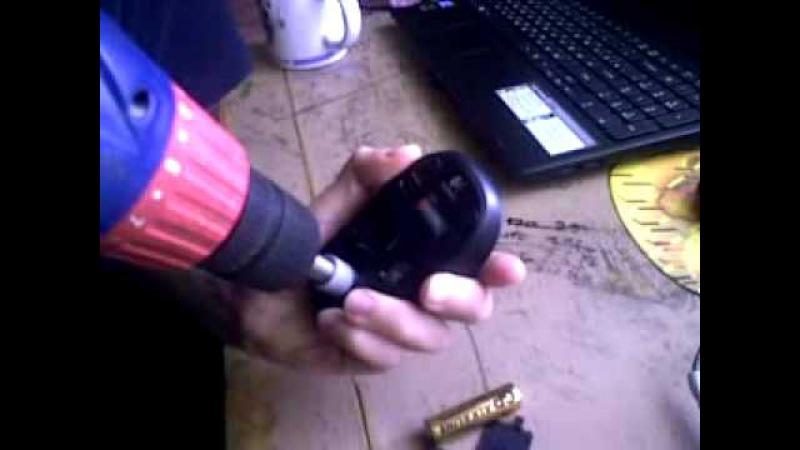 Как разобрать/открыть мышку Logitech M185