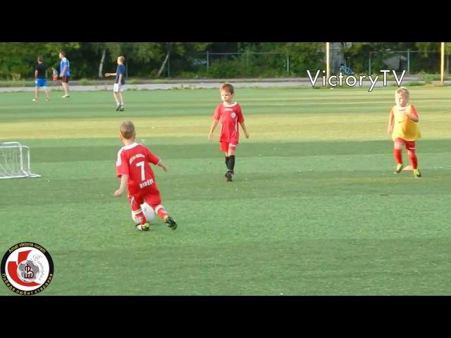 Тренировка по футболу для детей 5 6 лет