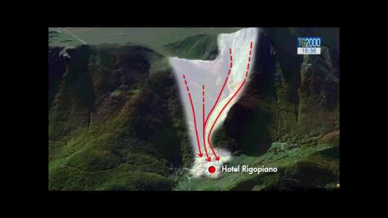 Hotel Rigopiano: situazione catastrofica, l'albergo è stato spazzato via