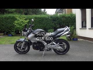 обзор SUZUKI GSR 600