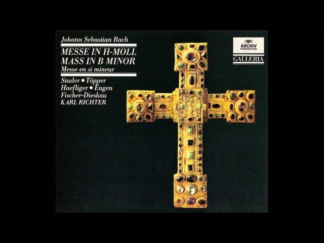 Bach - Richter, Misa en si menor/B minor, BWV 232
