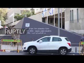Израиль: Нетаньяху прибыл в Тель-Авивский суд для дачи показаний по делу о клевете против журналистов в Фэйсбук.