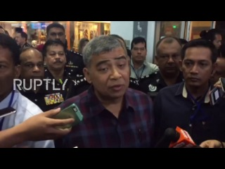 Малайзия: VX нерва агент, используемый, чтобы убить Ким Чон Нама, утверждает полиции Малайзии.
