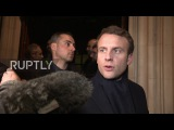 Великобритания «Доказательства атак» из Украины и России, Макрон говорит взлома претензий.