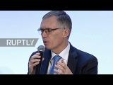 Франция Дженерал Моторс и Группа ПСА говорит Опел-Воксхолл сделку в Париже.