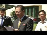 Малайзия Инцидент используется для отражения Южной Кореи скандал, форсировает размещение ракет - Северная Корея.