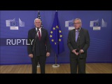 Бельгия Пенс и Юнкер стресс важность ЕС-США партнерства.