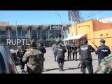 Аргентина Полиция выпустила резиновые пули у любителей музыки, так как переучет концертов заканчивается беспорядками.