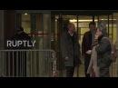 Франция Телохранитель Марин Ле Пен допросила над коррупционный скандал.