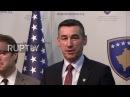 Сербия: США конгресс делегация приветствовали Ассамблею Косово в Приштине.