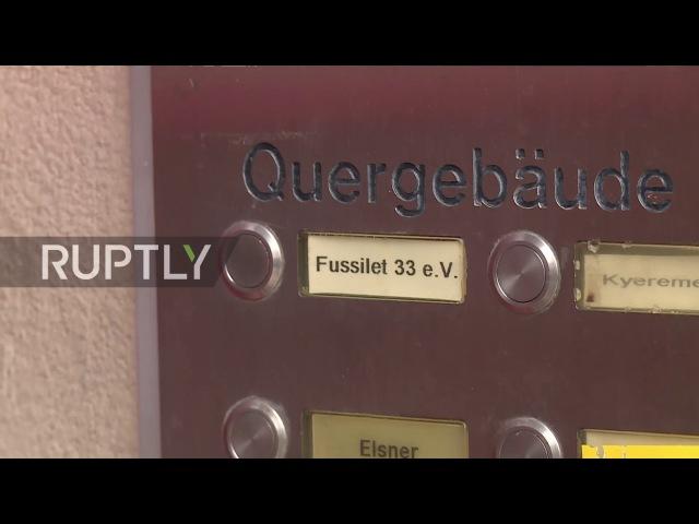 Германия: Берлин грузовик взломщик мечеть ворвались и закрыли в широко распространенной операции.