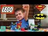 Набор Лего Супермен и Бетмен Станция и машинки Мультик Видео для детей Lego Juniors Superman Batman