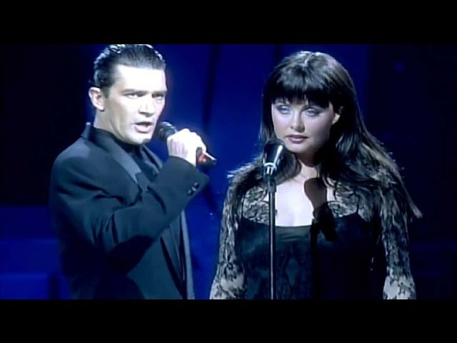Sarah Brightman and Antonio Banderas Призрак Оперы