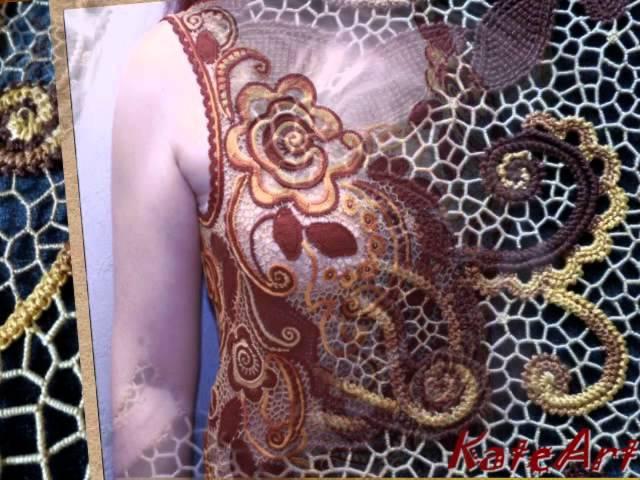 Платье Полонка - моя авторская работа.