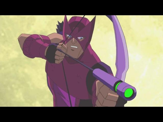 Мстители Величайшие герои Земли Все серии подряд сборник мультфильма Marvel Сезон 1 серии 5 8