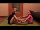 Little Girl Yoga Challenge Детская Йога. Челендж
