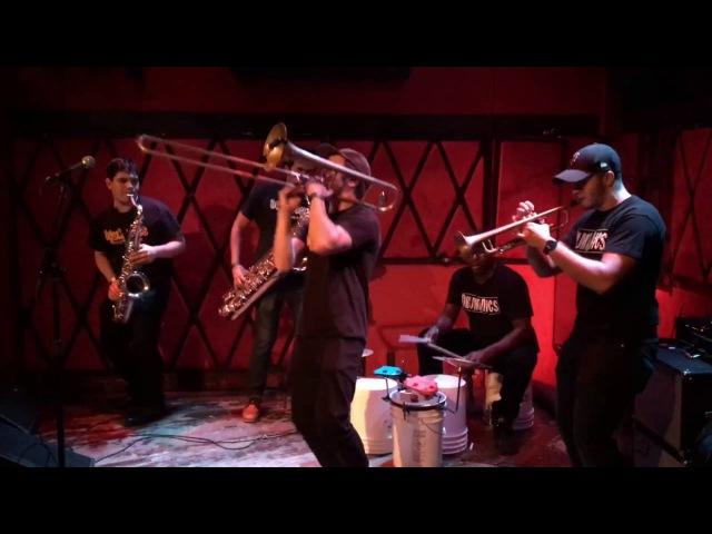 Drumadics Beat-N-Brass Band @ RockWood Music Hall