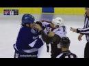 Cody McLeod vs Brian Boyle Oct 20, 2016