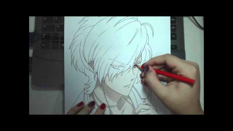 Speed Drawing Sakamaki Subaru Diabolik Lovers смотреть онлайн без регистрации