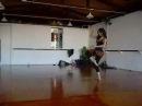 Work da Ju Marconato no Espaço Danças do Mundo (Solo da JU)