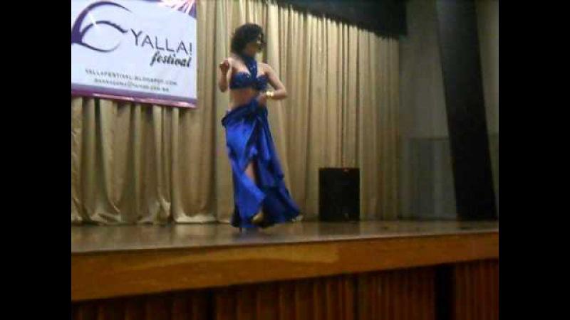 Esmeralda Colabone - Dancesmeralda - Yalla Festival 2013