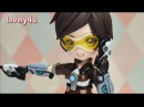 Lovely4u | VO7 | Overwatch Tracer| DIY| Creative Clay Figure Tutorial