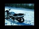 обзор Cobra Crossfire 125/езда по снегу