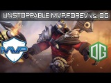 UNSTOPPABLE MVP.FOREV AXE vs. OG TI6 MAIN EVENT Dota 2