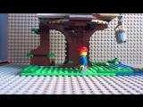 лего дом на дереве lego creator/