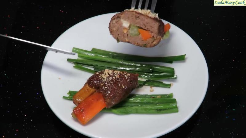 КОТЛЕТЫ по-Корейски - Tasty Cutlet Recipe - chiên thịt cốt lết HÀN QUỐC