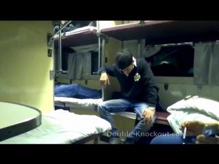 Русский против Дагестанца драка в поезде