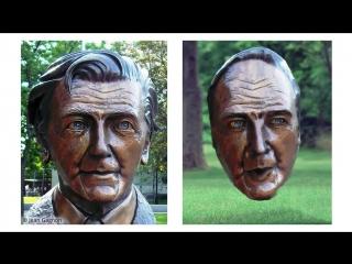 Искусственный интеллект превратит лицо пользователя в бронзовую статую или картину