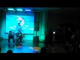 Академия Москва ноябрь 2016 Танцевальный баттл второй круг Милана Волкова