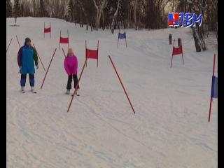 Мечты сбываются. На горнолыжном склоне в городском парке прошел мастер-класс в рамках реализации проекта «Волшебные лыжи».