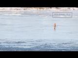 ОРТ ТВ - Выход на лед в Рыбинске запрещен