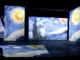 Мультимедийная выставка картин Ван Гога