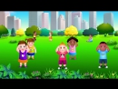 Head, Shoulders, Knees and Toes - Exercise Song For Kids