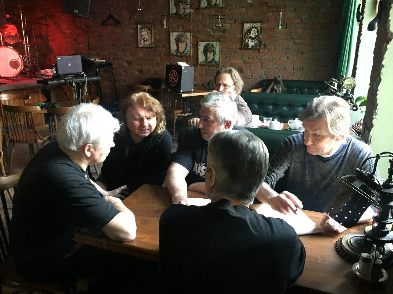 Репетиция в баре