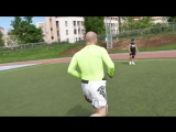 Бег для бойцов с Анваром Абдуллаевым — беговая тренировка и лесенка на турнике (street workout)