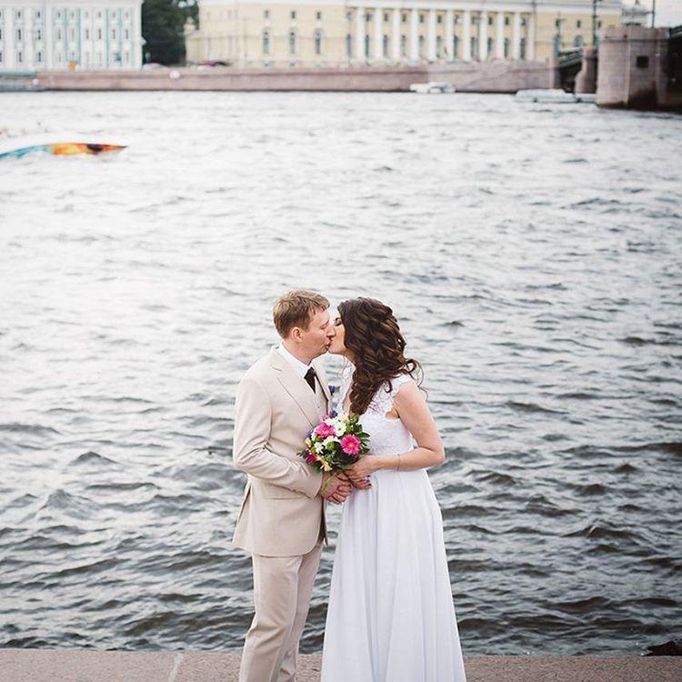 Свадьба в Санкт Петербурге, свадьба на Неве