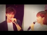 Park Hyung Sik ♡ Park Bo Young - I Love You ♡ Sweet Moments in Singapore Part 1