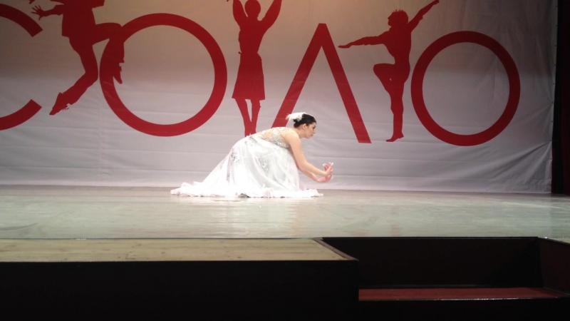 SABINA ZEMBATOVA- китайский фольклорный танец ДУША ПАВЛИНА. ДИПЛОМ ГРАН-ПРИ на I хореографическом конкурсе соло-исполнителей
